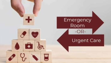 Emergency Room or Urgent Care Stripes
